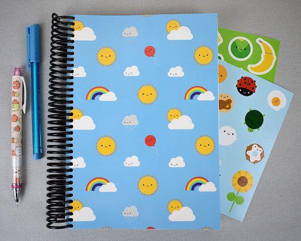 kawaii 5 year diary journal planner