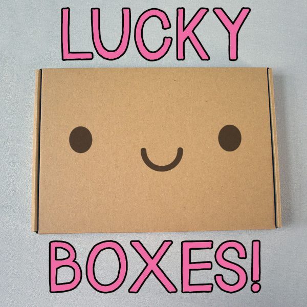kawaii stationery lucky boxes