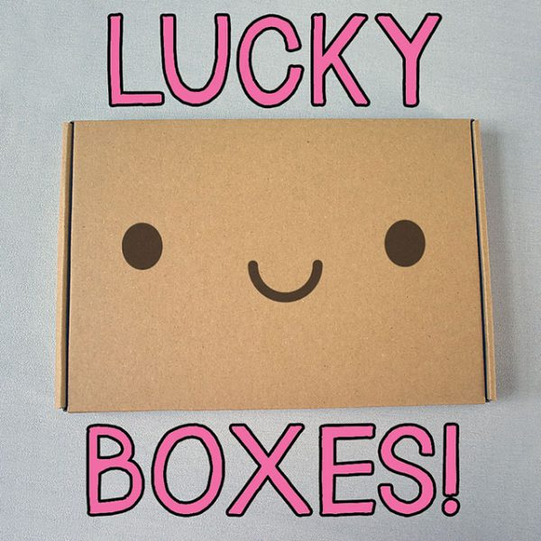 Black Friday kawaii lucky boxes