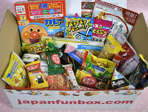 japanfunbox japanese candy subscription box