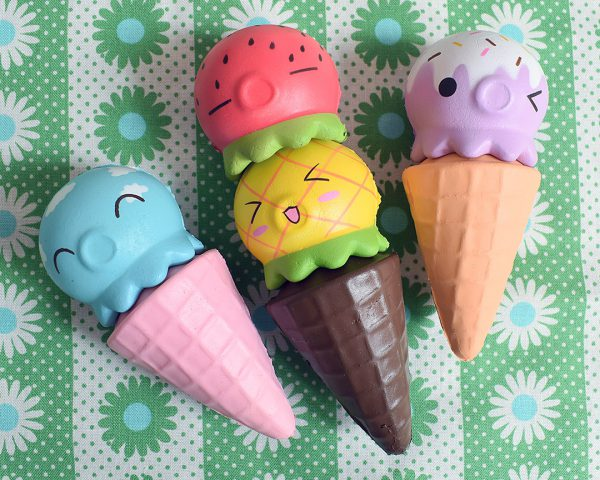 Creamiicandy Kawaii Ice Cream Octopus Squishy