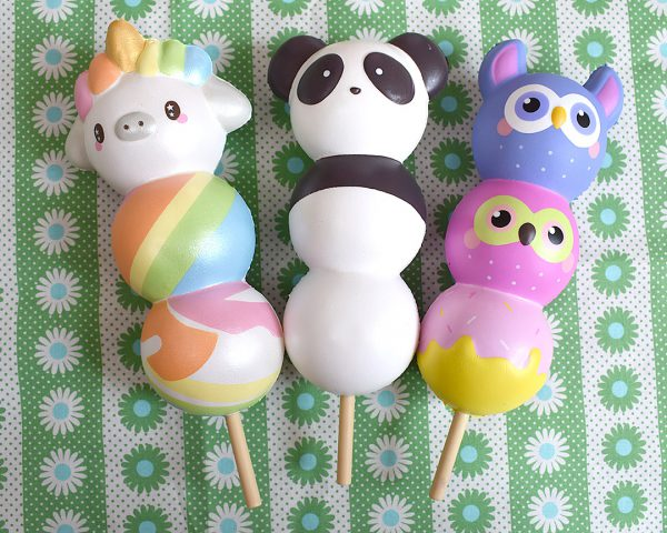 Creamiicandy Kawaii animal dango Squishy