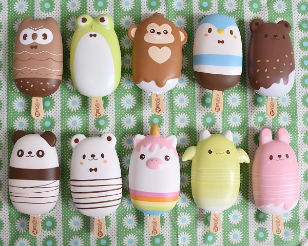 Creamiicandy Kawaii animal popsicles Squishy