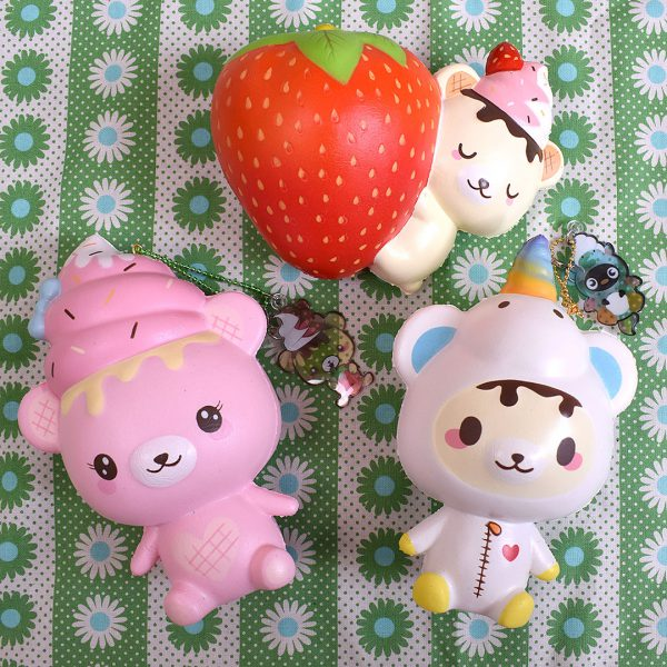 Creamiicandy Kawaii Yummiibear Squishy