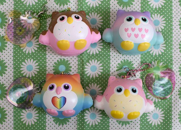 Creamiicandy Kawaii timekeeper owl Squishy
