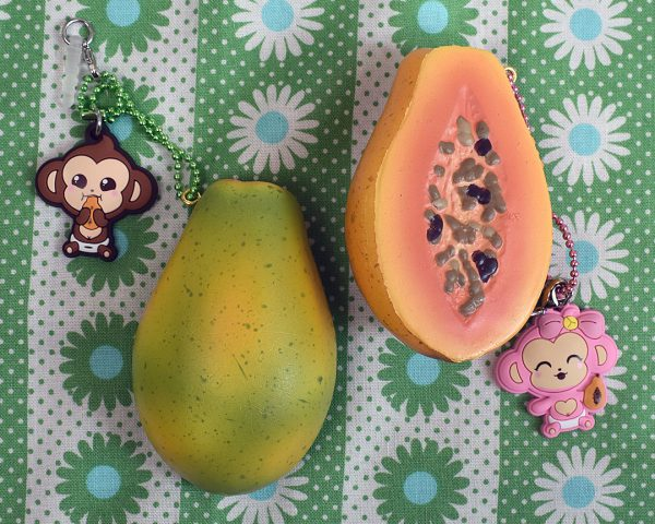 Creamiicandy Kawaii papaya Squishy