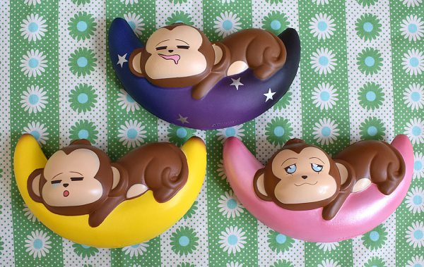 Creamiicandy Kawaii monkey moon Squishy