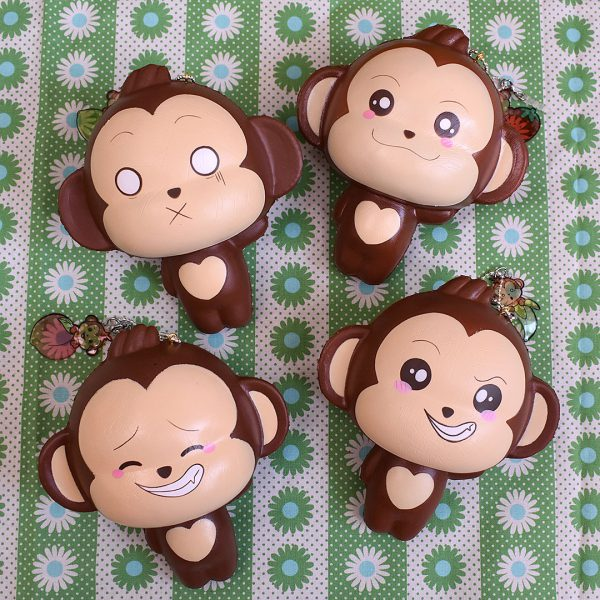 Creamiicandy Kawaii monkey Squishy