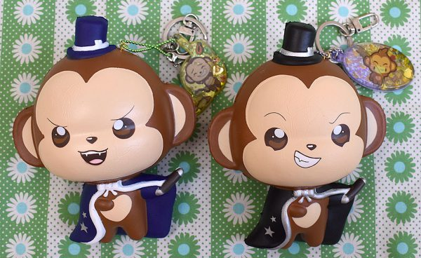 Creamiicandy Kawaii monkey magician Squishy