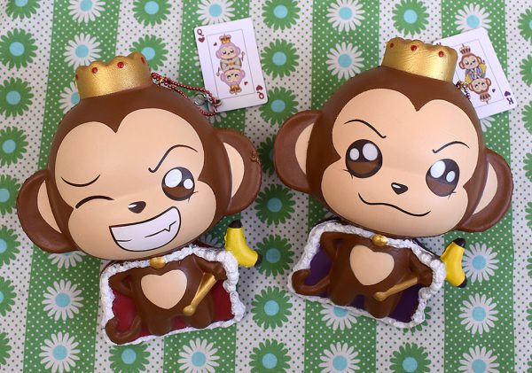 Creamiicandy Kawaii king monkey Squishy