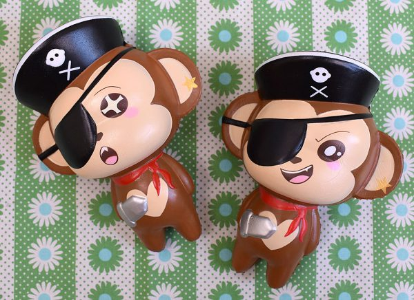 Creamiicandy Kawaii pirate monkey Squishy
