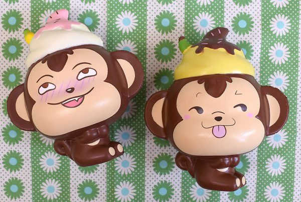 Creamiicandy Kawaii yummiibear monkey Squishy