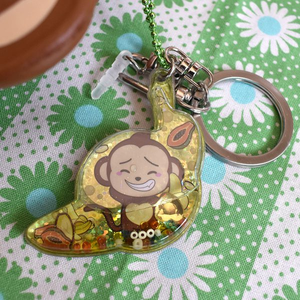 Creamiicandy Squishies cheeki monkey charm