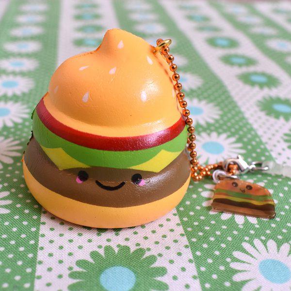 Creamiicandy Squishies burger poo