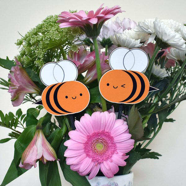 kawaii bumblebee garden decorations
