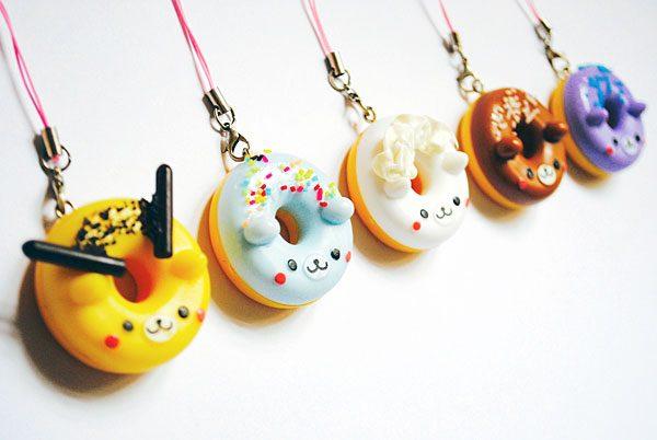 kawaii phone charms