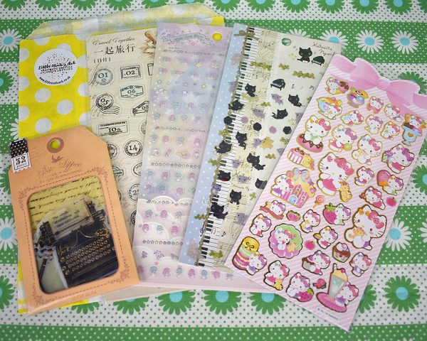 etsy UK kawaii stickers - littlenoahsark