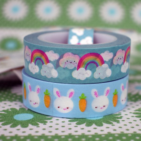 etsy UK kawaii washi tape - coloursplashsupplies