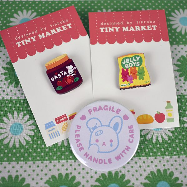 etsy UK kawaii brooches - tinrobo