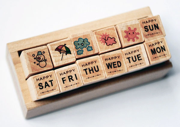kawaii planner stamps