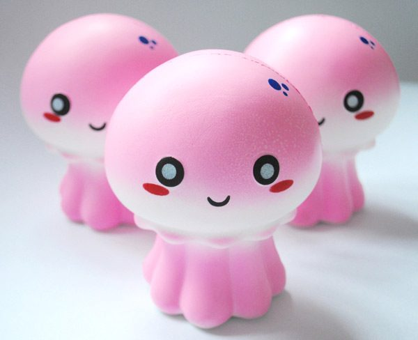 kawaii jellyfish squishies