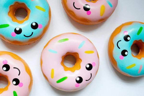 kawaii squishy donut