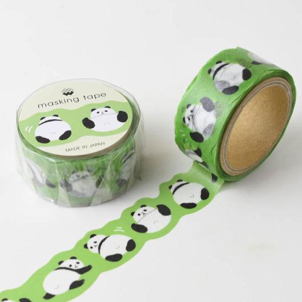 pandas kawaii washi tape