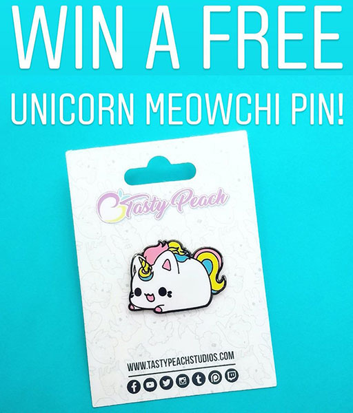 unicorn enamel pin kawaii giveaways