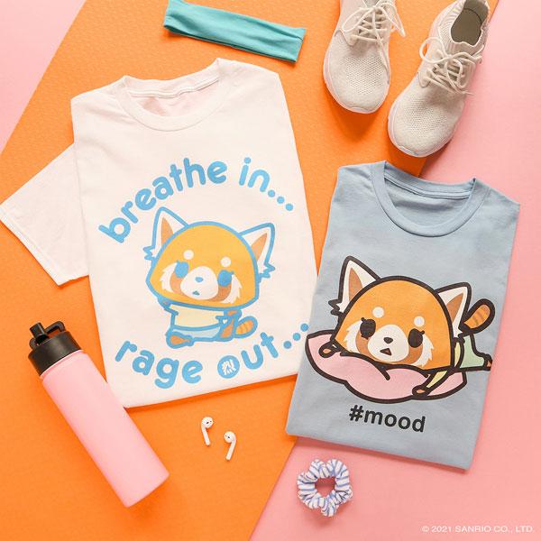 Aggretsuko t-shirts
