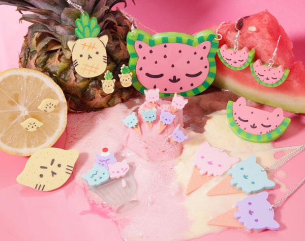 Summer Kittens Jewellery