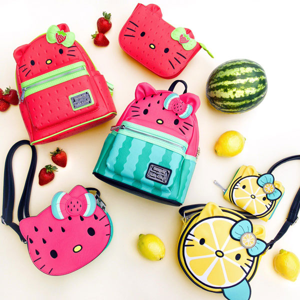 Loungefly X Hello Kitty Fruit bags