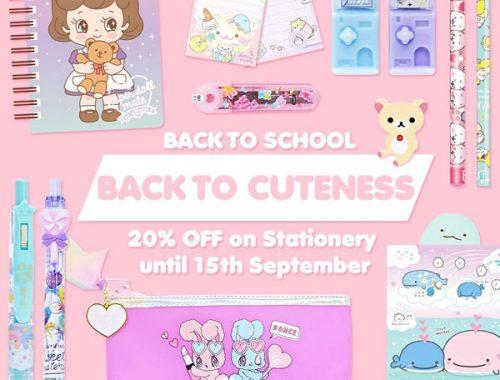Summer Sales at Kawaii Shops