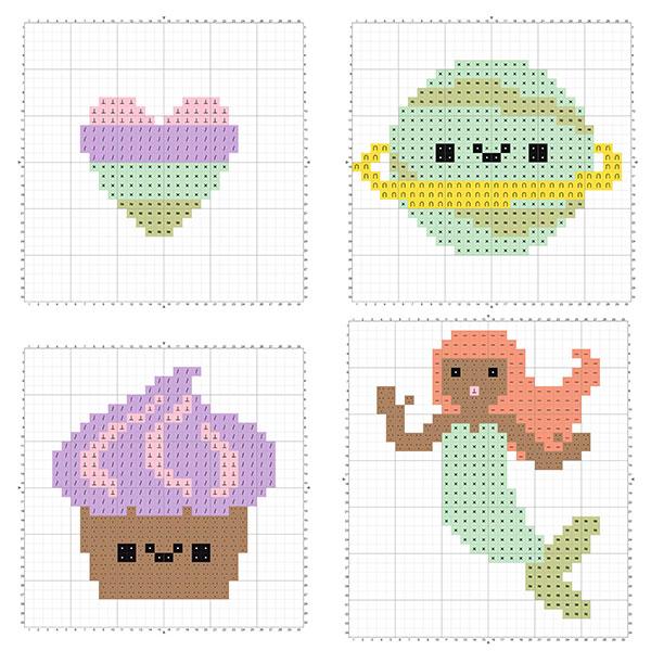 Free Beginner Cross Stitch Patterns