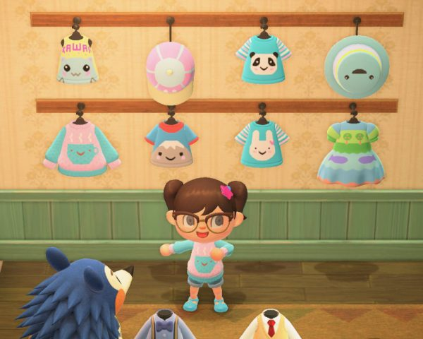 SCK Animal Crossing custom clothes