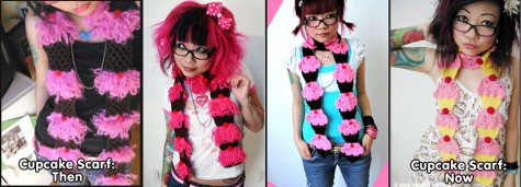EvolutionOfCupcakeScarf