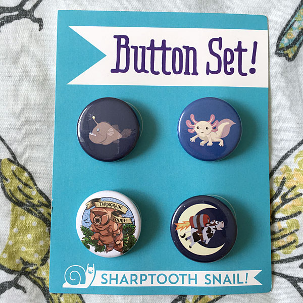 sharptooth snail review