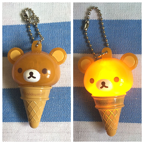 rilakkuma ice cream light