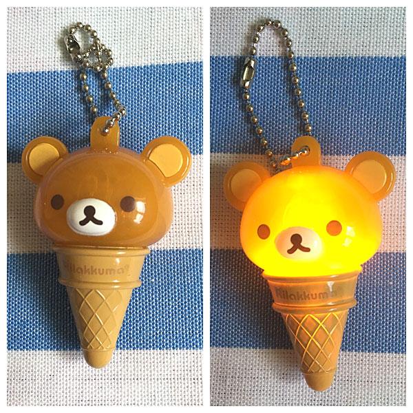 rilakkuma ice cream light