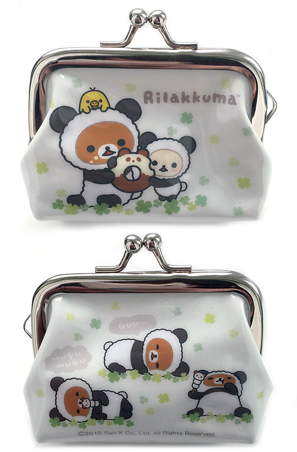 Rilakkuma Panda Mini Clasp Purse