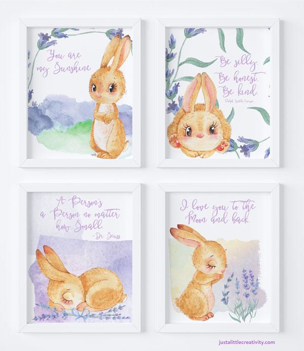 Cute Easter printables