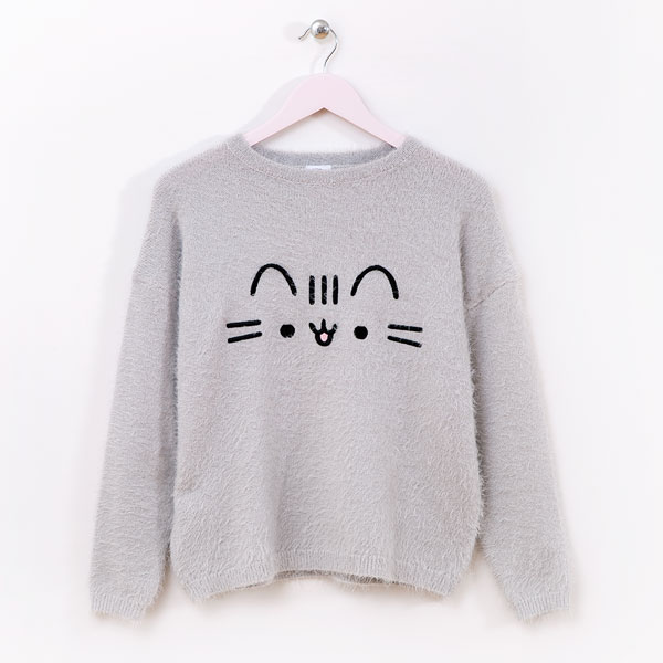 cute cosy Pusheen jumper
