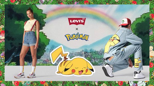 Levi's x Pokemon denim