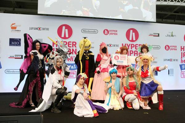 Hyper Japan cosplay