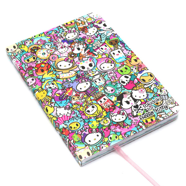 tokidoki x Hello Kitty journal