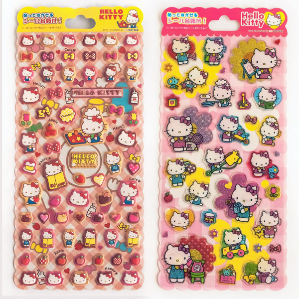Hello Kitty kawaii stickers