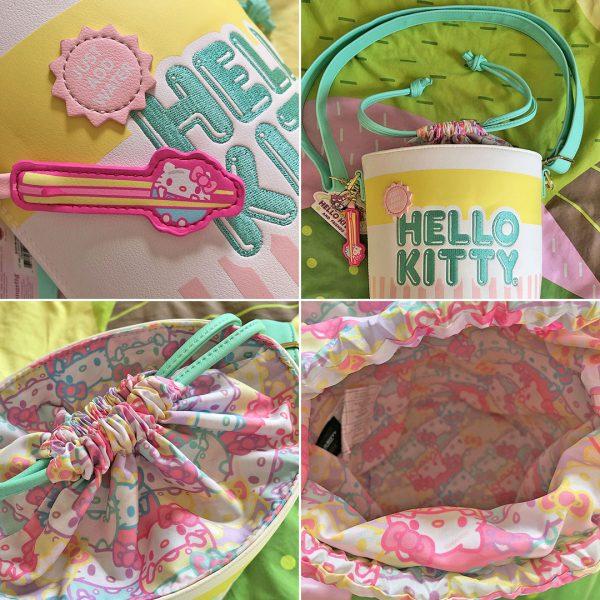 Sanrio Loungefly Hello Kitty Cup O Kitty Crossbody Bag