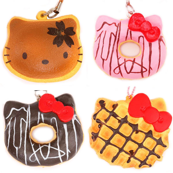 kawaii hello kitty food squishies