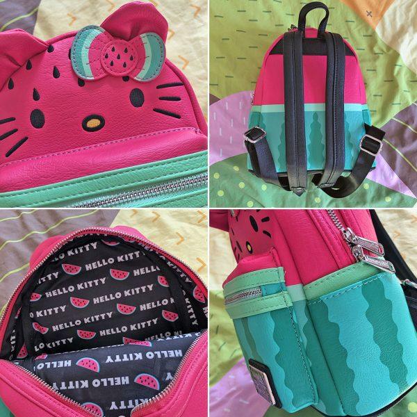 Sanrio Loungefly Hello Kitty Watermelon Mini Backpack