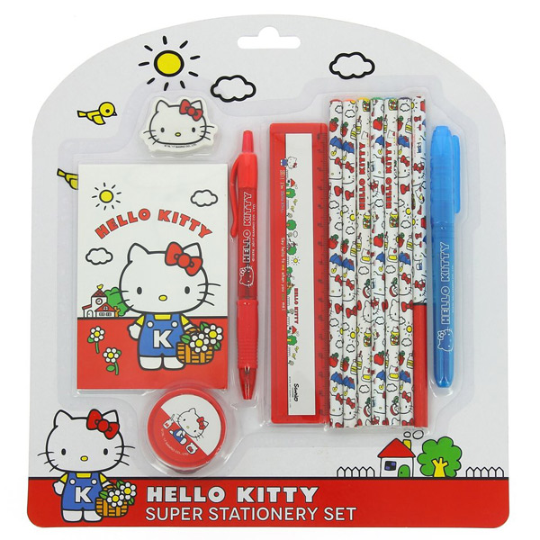 Hello Kitty kawaii stationery set