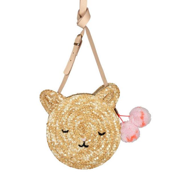 straw pochette bag